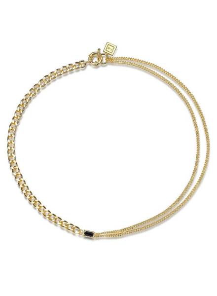 F+H Cure Double Chain Necklace