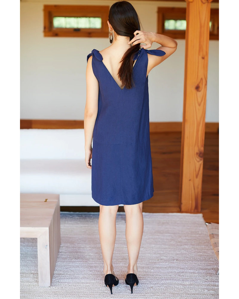 Emerson Fry Tie Shoulder Mod Dress
