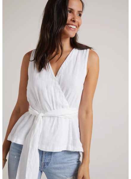 Bella Dahl Belted Wrap Top