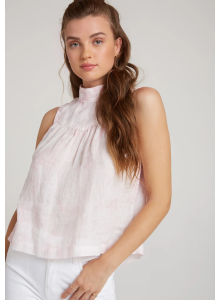 Bella Dahl Mock Neck Blouse