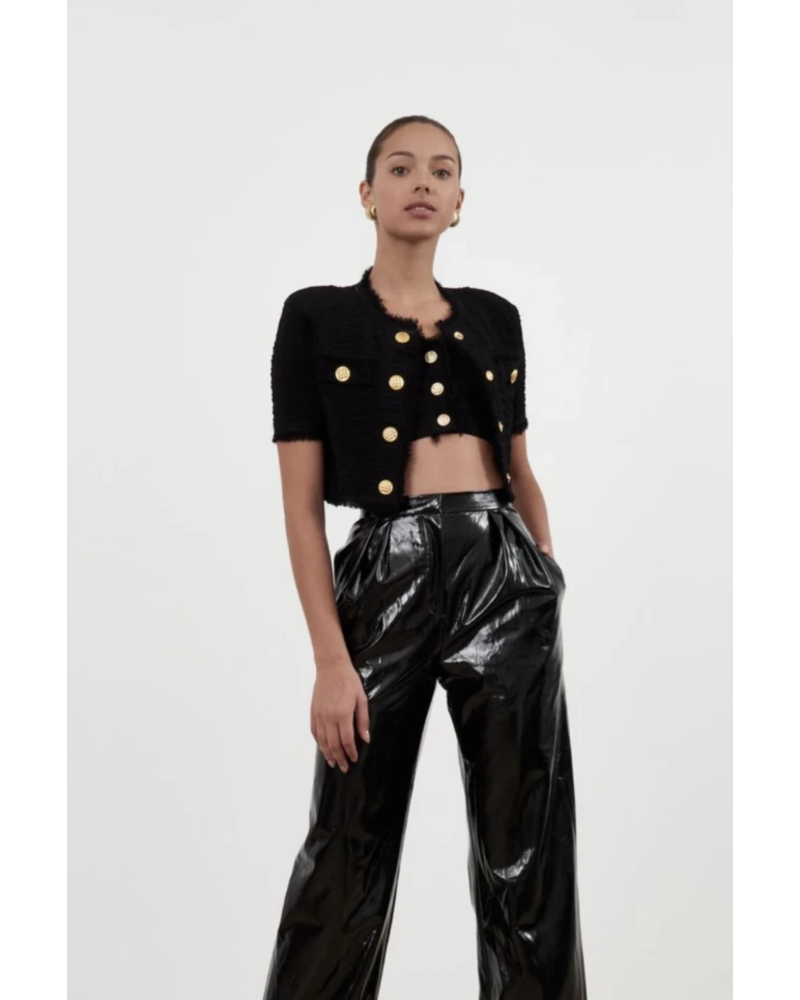 Ronny Kobo Kavan Cardigan Chanel Texture