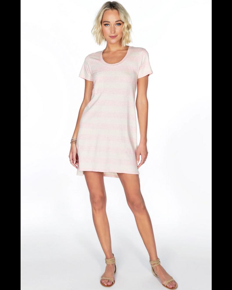 Bobi Short Sleeve Pocket  Dress