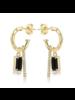 F+H Madonna Charm Earrings