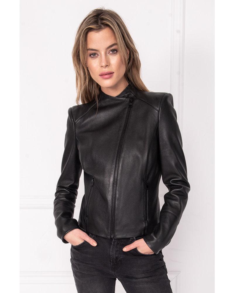 La Marque Sabina Leather Jacket