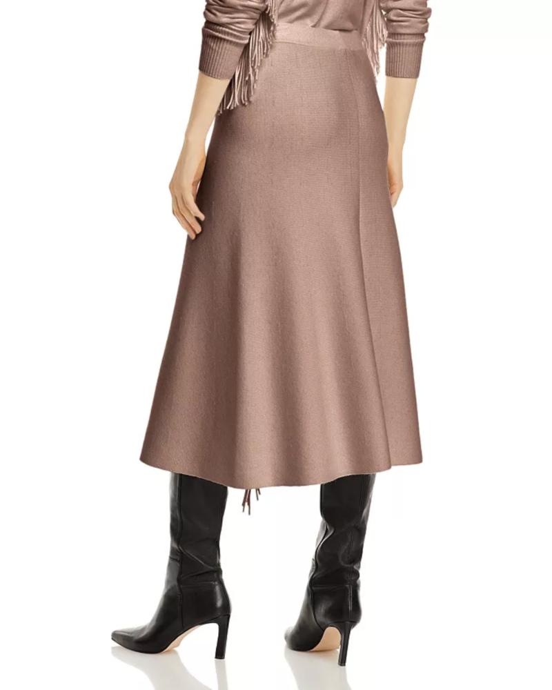 Marella Nappe Fringe Skirt