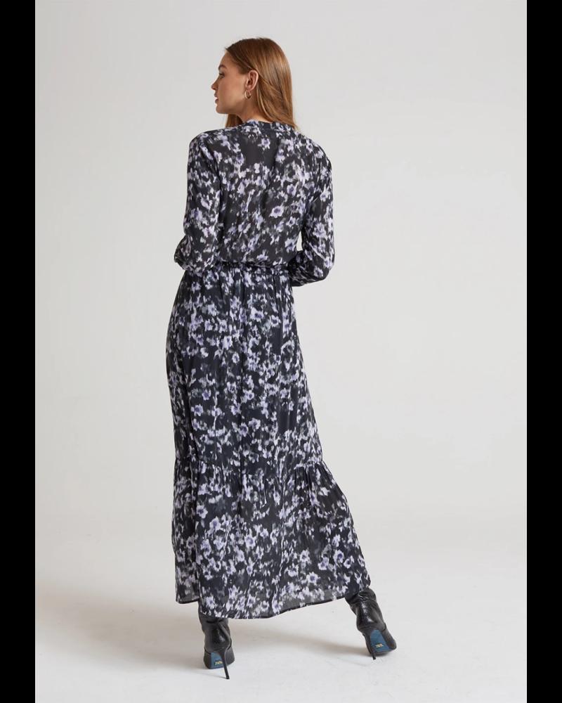 Bella Dahl Maxi Ruffled Shirt Dress