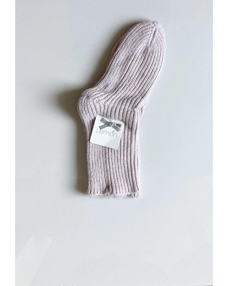 Lemon Loungewear Rib Ski Sock
