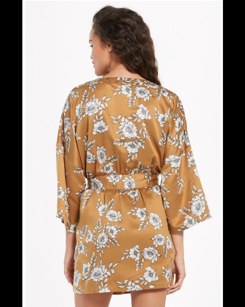 Z Supply Vacay Satin Robe