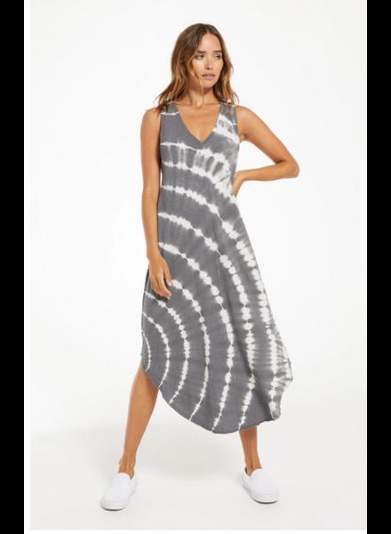 Z Supply Reverie Sprial Tie-Dye Dress