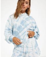 Z Supply Eva Spiral Tie Dye Hoodie