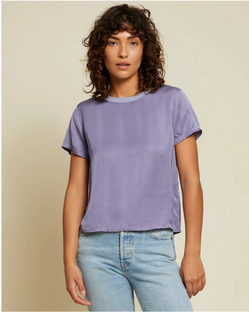 Nation Marie Sateen Boxy Crop