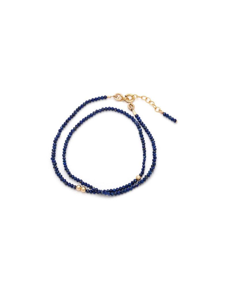 Sarah J Holmes Zara Lapis Bracelet