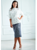 Hilary Macmillan Cable Knit Sweater