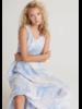 Bella Dahl Tie Shoulder Maxi Tier Dress