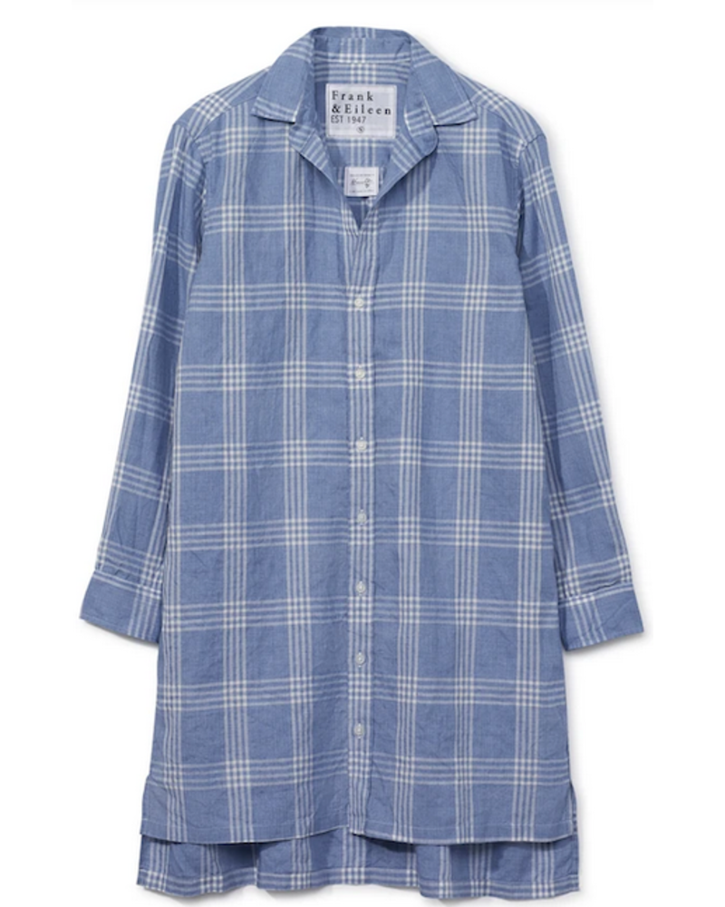 Frank & Eileen Hunter Linen Button Up Dress