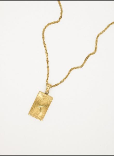 Atelier SYP Rectangle Pendant Necklace