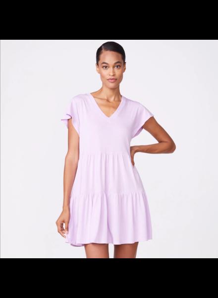 Monrow Ruffle Dress