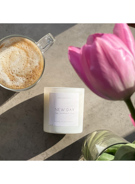 Northern Rose New Day Candle