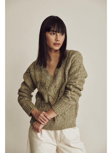 Line Alma Cable Knit Sweater