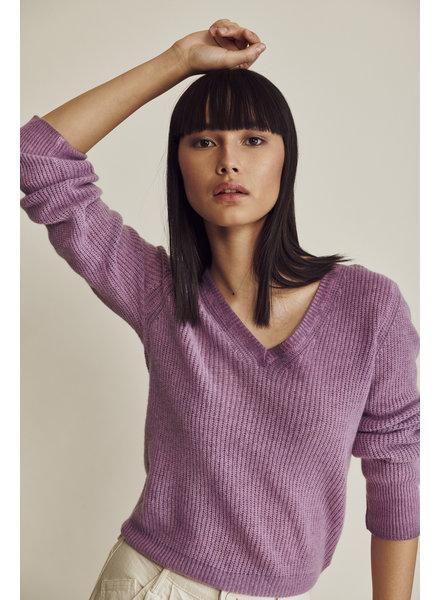 Line Blair V-Neck Cashmere Sweater