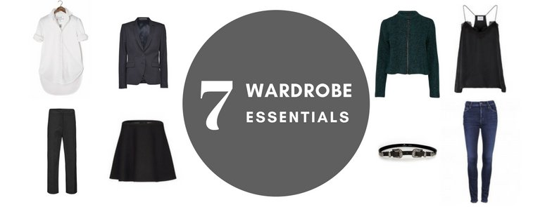 UPDATE YOUR CLOSET WITH THESE 7 ITEMS