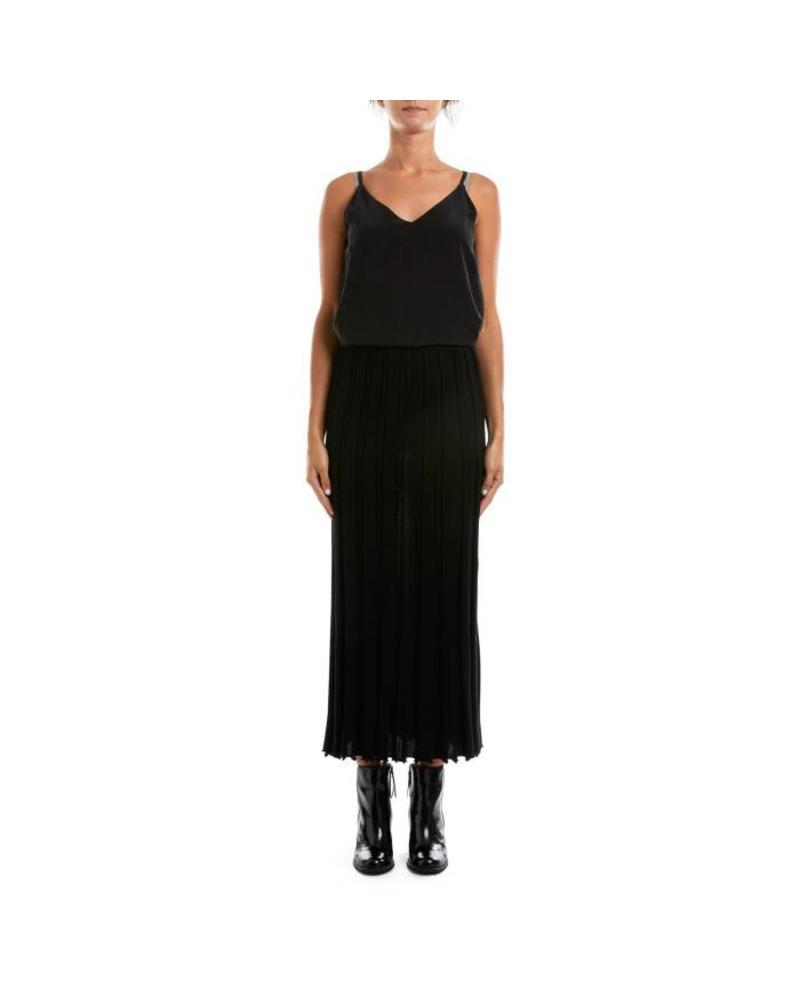 Claire Wool Pleat Skirt