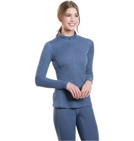 Kuhl Clothing Kuhl Women's Akkomplice Zip Neck LS Shirt