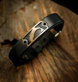 Sight Line Provisions SLP Leather Skinny Bracelet Trout -