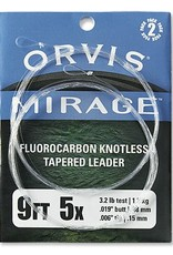 Orvis Orvis Mirage Knotless Leader (2 Pack) 9'