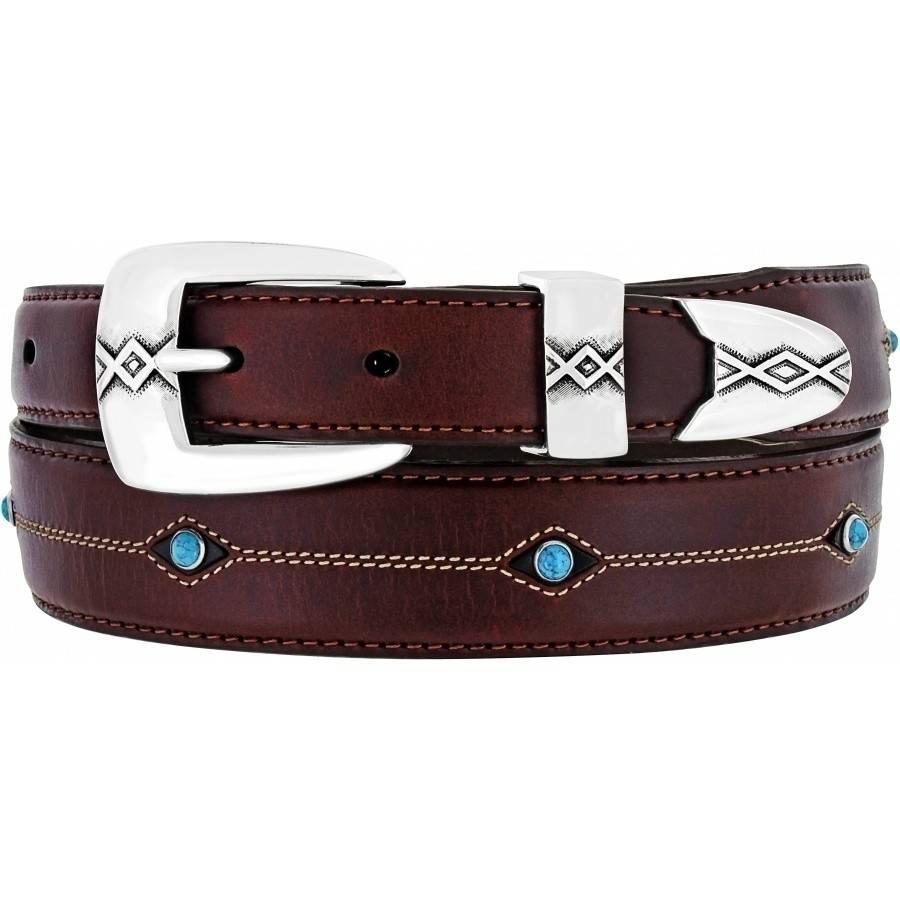 Leegin Creative Leathers Brighton Cody Turquoise Taper Belt