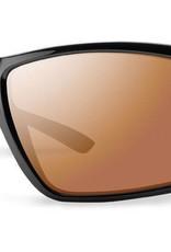 603b9bc1aa Smith Sport Optics Smith Colson Sunglasses Black Frame Polarchromic  Techlite Copper Mirror Lens DISC