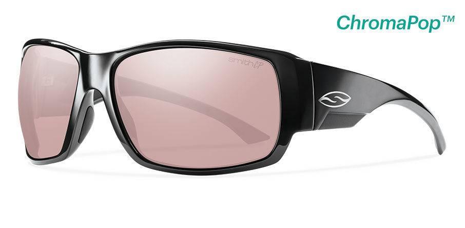 699adaa18d Smith Sport Optics Smith Dockside Sunglasses Black Frame w  ChromaPop  Polarchromic Ignitor Lens DISC