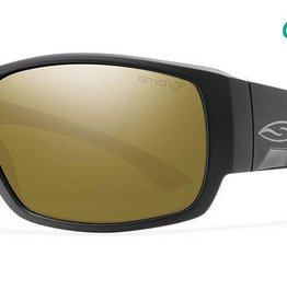Smith Sport Optics Smith Dockside Sunglasses - Matte Black Frame w/ ChromaPop Bronze Mirror Lens DISC