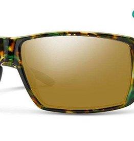 Smith Sport Optics Smith Guides Choice Sunglasses - Flecked Green Tortoise Frame w/ Chromapop Copper Polar Bronze Mirror Lens (DISC)