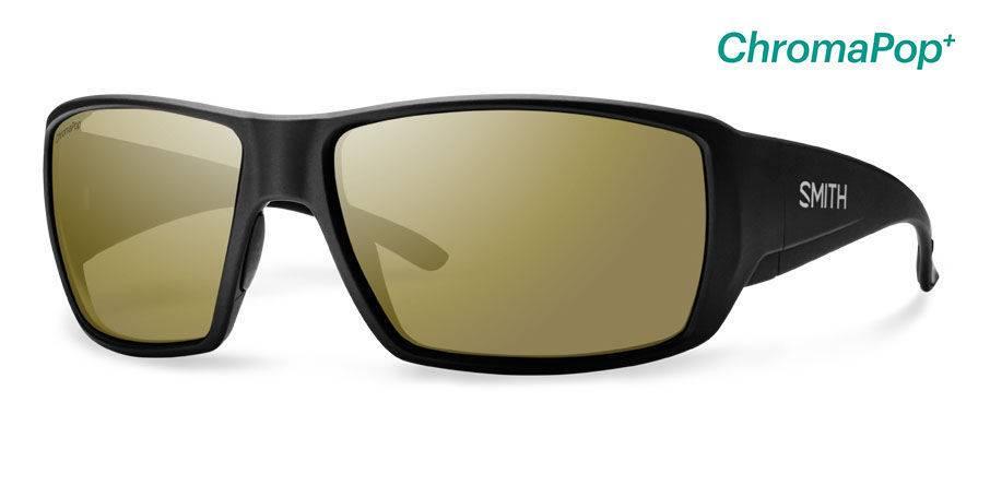 4b1b43b7b8 Smith Sport Optics Smith Guides Choice Sunglasses - Matte Black Frame w   ChromaPop Polarized Bronze