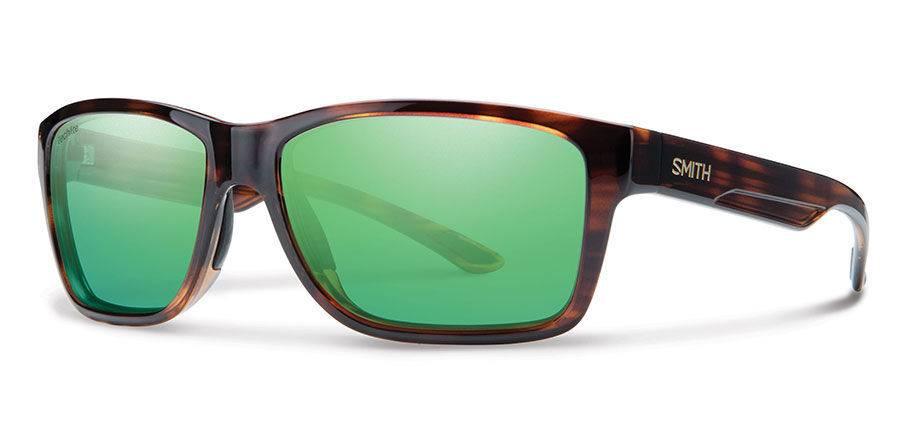 c6c1782c61 Smith Sport Optics Smith Wolcott Sunglasses - Tortoise Frame w  Polarized  Green Mirror Lens -