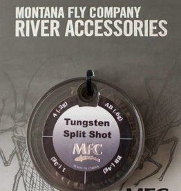 Montana Fly Co MFC Tungsten Split Shot Assortment - 70 Pieces