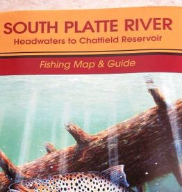 Shook Book Publishing South Platte River Fishing Map and Guide