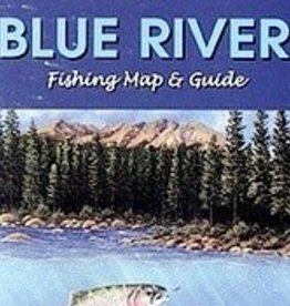 Shook Book Publishing Blue River Fishing Map & Floater's Guide