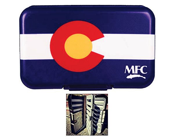 Montana Fly Co MFC Poly Fly Box (optional leaf insert)