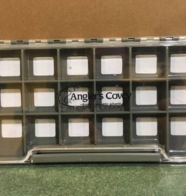 New Phase New Phase Waterproof Clear Thin Fly Box - 18 Comp