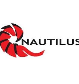 """Nautilus Reels Nautilus Small Window Sticker 5"""" x 2"""""""