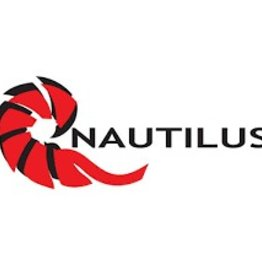 "Nautilus Reels Nautilus Large Window Sticker 8"" x 3"""