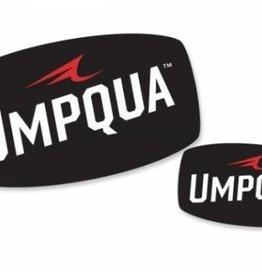 """Umpqua Feather Merchants Umpqua Decal Large 6"""" x 3.5"""""""