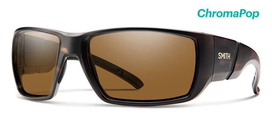 aa1518cdb421 Smith Sport Optics Smith Transfer XL Sunglasses Matte Tortoise Frame  ChromaPop Polarized Brown Lens