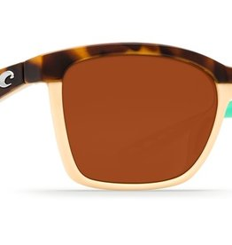 Costa Del Mar Costa Anaa Shiny Retro Tortoise/Cream/Mint Frame Copper 580P Lenses