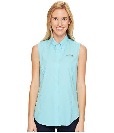 Sportswear Shirt Tamiami Women's Columbia Sleeveless TFcK1uJl3