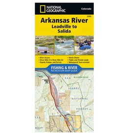 Anglers Covey National Geographic Map 2303 Arkansas River - Leadville to Salida