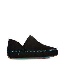 EMU Women's Lochlan Slippers Black/Teal
