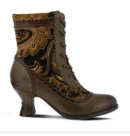 Bewitch Bootie Olive Multi